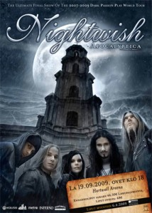 Nightwish-Apocalyptima Póster Oficial